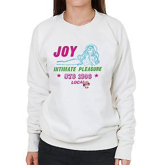 Freude intime Vergnügen Callgirl Damen Sweatshirt