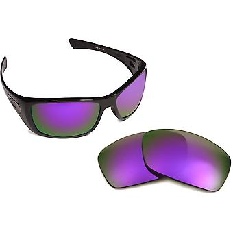 New SEEK Polarized Replacement Lenses for Oakley HIJINX Red Purple Mirror