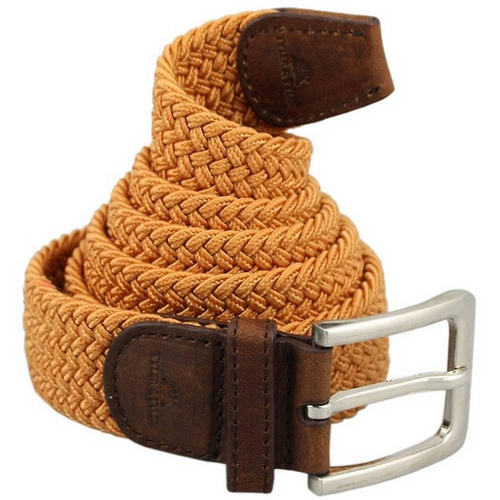 Tyler and Tyler Woven Belt - Orange