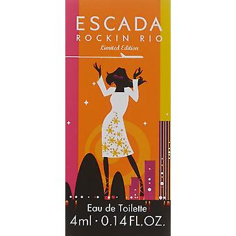 Escada Rockin' Rio Eau de Toilette 4ml EDT Splash