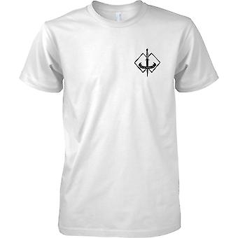Australiano Op speciale - 2 ° Commando Regiment - militare esercito - Mens petto Design t-shirt