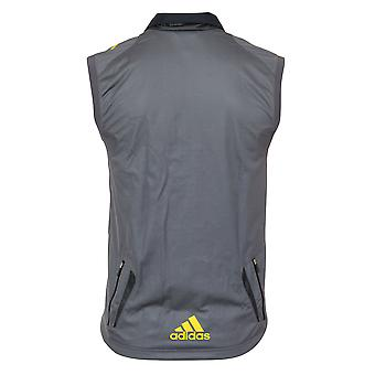 Adidas il Gilet di atletica ClimaWarm antivento Mens Cross Country