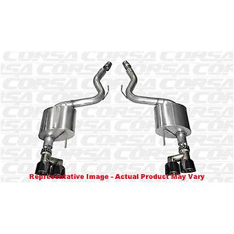 CORSA Performance Axle Back Exhaust 14334BLK Black Fits:FORD 2015 - 2016 MUSTAN