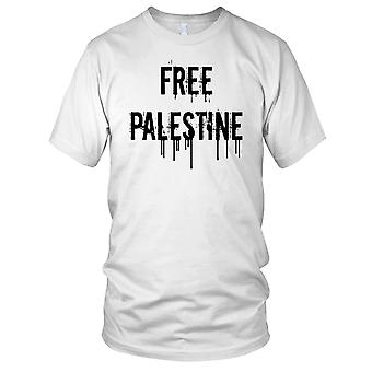 Vrij Palestina Free Gaza Anti-oorlog Mens T Shirt