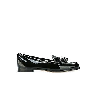 MICHAEL KORS CALLAHAN BLACK PATENT LOAFER