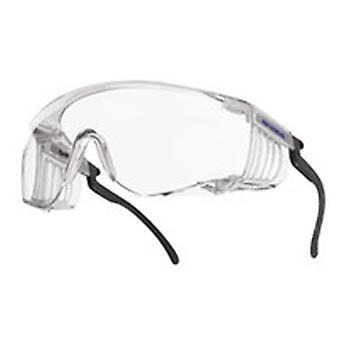 SQUPSI BOLLE SQUALE COVERSPECS CLEAR PC ANTI SCRATCH & FOG LENS