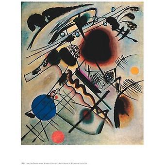 Scwarzer Fleck Poster Print by Wassily Kandinsky (24 x 30)