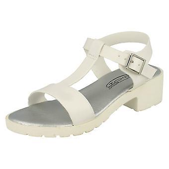 Girls Spot On T-Bar Sandals