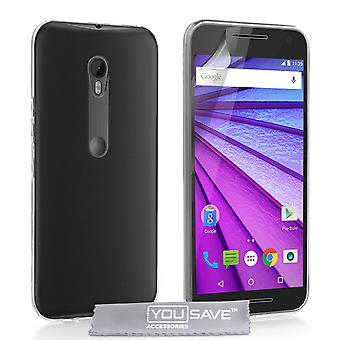 Motorola Moto G 3. Gen ultra-dünnen 0,6 mm Gehäuse - Clear