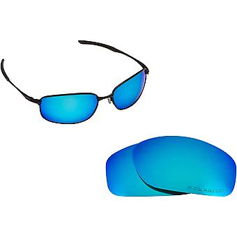 Best SEEK Polarized Replacement Lenses for Oakley TAPER Red Blue Mirror