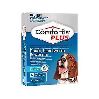Comfortis addisjonstegn for hundene 18.1-27kg(40.1-60lbs) blå