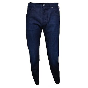 Armani Jeans Men's J45 Dark Blue Slim Fit Jeans