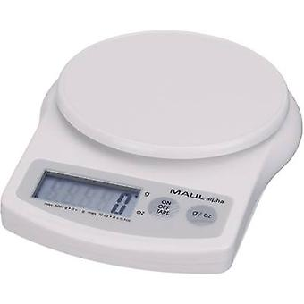 Letter scales Maul MAULalpha Weight range 5 kg Readability 1 g
