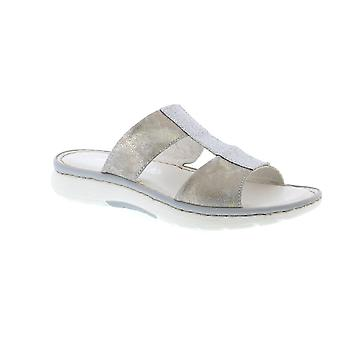 Marco Tozzi Nicole 27107 - Silver Comb (Leather) Womens Sandals