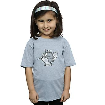 Tom And Jerry Girls Nope Face T-Shirt