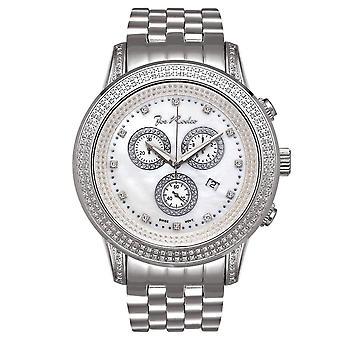 Joe Rodeo diamond men's watch - SICILY silver 1.8 ctw