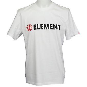Elementet mäns T-Shirt ~ Blazin optic white