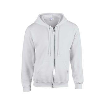 Gildan Heavyweight blandning ungdom full zip hooded sweatshirt