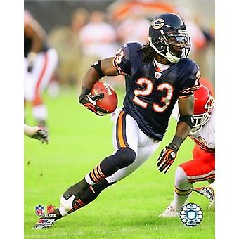Devin Hester 2008 Rushing Action Photo Print