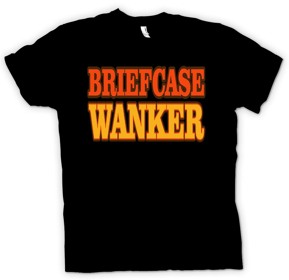 Mens T-shirt - Briefcase Wanker