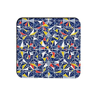 Melamaster Shards Square Moulded Coaster