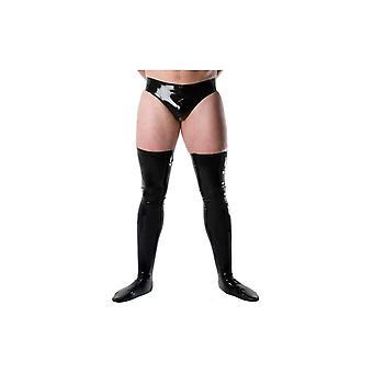 Men's Deluxe Latex Rubber Stockings