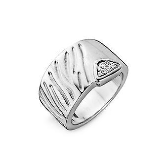 Orphelia argento 925 anello grande zirconio 129 ZR-3822