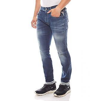 Replay slim fit jeans trend byxor mäns bas Blau
