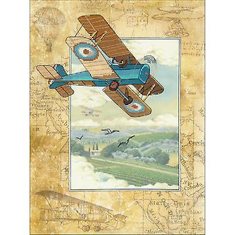 Above The Clouds Counted Cross Stitch Kit-11.75