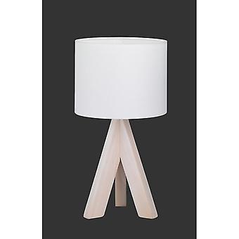 Trio oświetlenie nowoczesne Ging drewno koloru naturalnego drewna Lampa