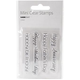 Mini Clear Stamps 2.25