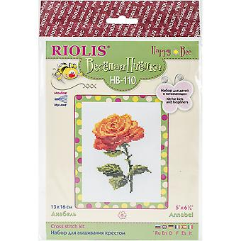 Annabel Counted Cross Stitch Kit-5