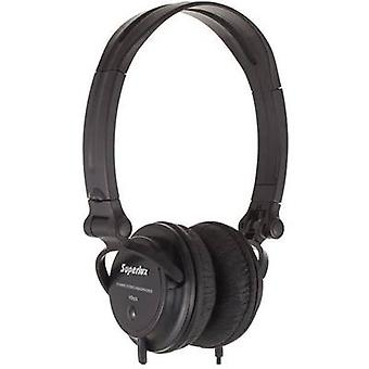 Superlux HD 572 koptelefoon op-oor zwart