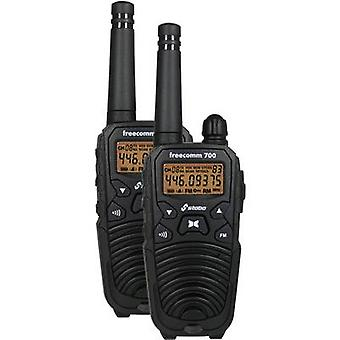 Stabo Freecomm 700 20700 PMR handheld Transceiver 2-teiliges set