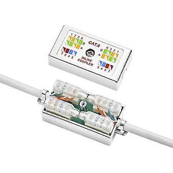 Caja de conexión Compatible con: CAT 6 Renkforce herramienta-libre