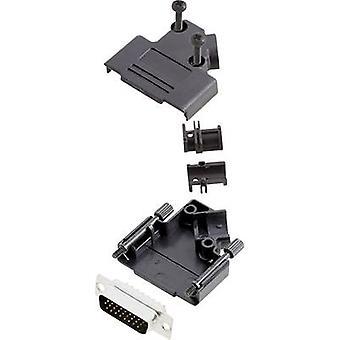 encitech D45PK-P-15-HDP26-K D-SUB pin strip set 45 ° Number of pins: 26 Solder bucket 1 Set