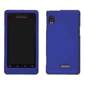 Wireless Solutions Soft Touch Snap On Case for Motorola A954/Droid 2 A955 - Blue