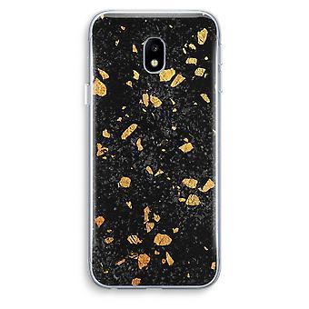 Samsung Galaxy J3 (2017) Transparent Case (Soft) - Terrazzo N°7