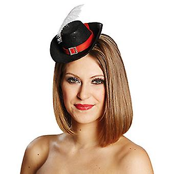 Musketeer hair clip accessories Hat Halloween Carnival