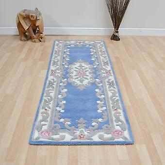 Chinese Rugs - 510 Aubusson Full Cut In Blue