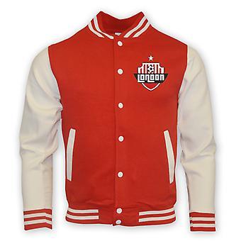 Arsenal College Baseball Jacket (red) - Kids