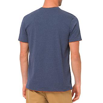 Zwierząt Delano męskie Logo Krótki rękaw szyi koszulka Tee Top