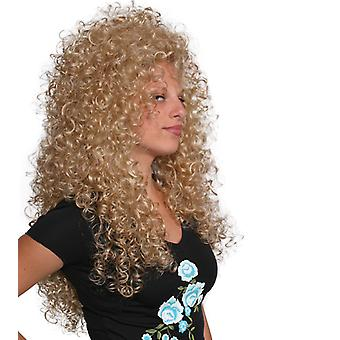 Fashion women long curly Lioness wig
