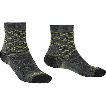 Bridgedale Mens Hike Lightweight Merino Wool Pattern Socks