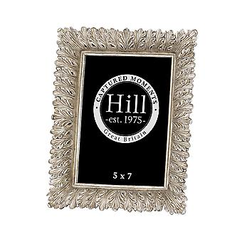 Hill Interiors Antiqued Feather Effect Style Photo Frame