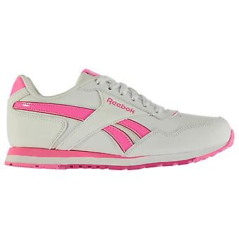 Reebok Kids Classic Glide Junior Girls Trainers Lace Up Lightweight Shoes