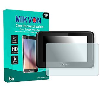 TomTom PRO 7150 Screen Protector - Mikvon Clear (Retail Package with accessories)