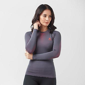 ODLO Women's Warm Long Sleeve Crew