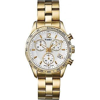 Ladies' Gold Tone Chronograph Watch