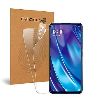 Celicious Vivid Invisible Glossy HD Screen Protector Film Compatible with vivo NEX Dual Display [Pack of 2]